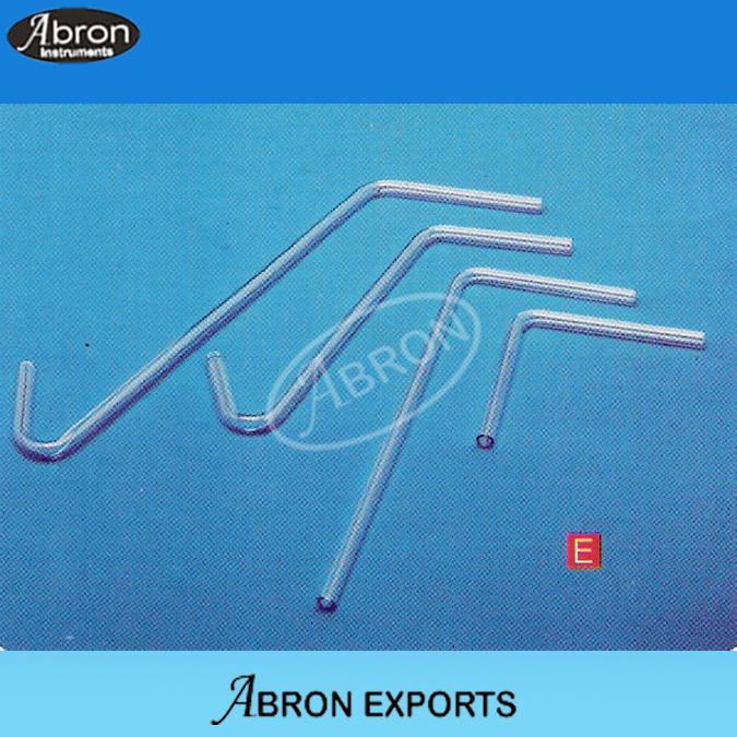 Delivery tubes glass bent mixed pack abron
