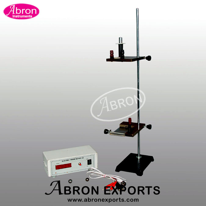 free fall apparatus Cost-effective free fall apparatus for elementary and secondary students public schools do not have sufficient funds for the purchase of a free-fall apparatus, which is used to measure the time for a falling object to hit the switch pad from a certain point a cost-effective free-fall apparatus was.